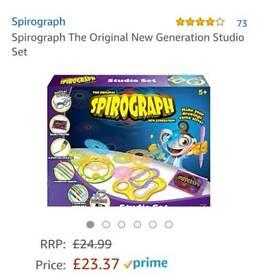 Spirograph 3D set