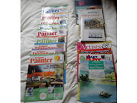 Painter & Art magazines & watercolour books