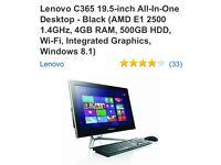 Lenovo C365 all in one desktop