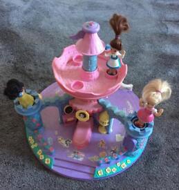 Disney Princess Castle Carousel