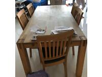 Barker and Stonehouse Table, Sideboard & 8 chairs