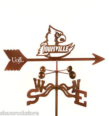 (University of Louisville Weathervane Cardinals U of L - with Choice of Mount)