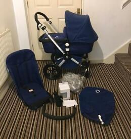 Beautiful All Navy Bugaboo Cam 2 with Accesories - Limited edition!