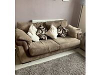 Lovely 2 and 3 seater sofa