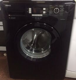 77 Beko WMB714422 7kg 1400 Spin Black LCD A++ Rated Washing Machine 1 YEAR GUARANTEE FREE DEL N FIT