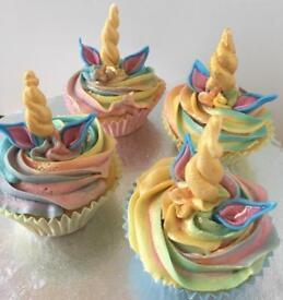 Unicorn Cupcakes Children's parties Birthdays Mothers Day