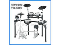 "Roland TD-15KV with VH-11 hihat electronic V Drums kit & pedal FULL MESH - Plus VEX pack ""Sync"""