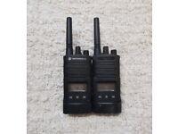 Motorola XT460 Radio (Walkie Talkie) x2