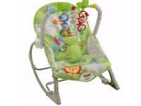 Fisher-Price Rainforest Infant to Toddler Rocker (excellent condition)