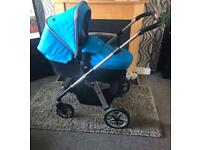 Silvercross pioneer pram pushchair car seat