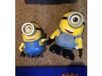 Minions toys Stuart and Dave