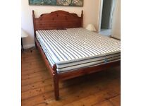 SOLD Rarely used double bed with good quality mattress