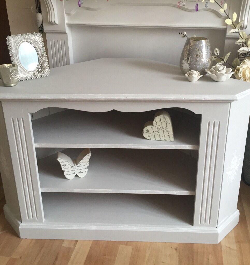 shabby chic pine tv unit in herne bay kent gumtree. Black Bedroom Furniture Sets. Home Design Ideas