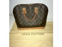 Genuine Louis Vuitton Alma PM bag