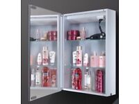 HiB Cosmic Aluminium Bathroom Cabinet code: 43400 RRP £618