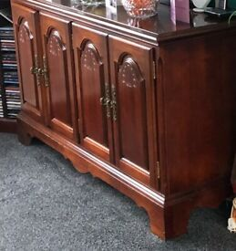 Free Dark Wood Sideboard