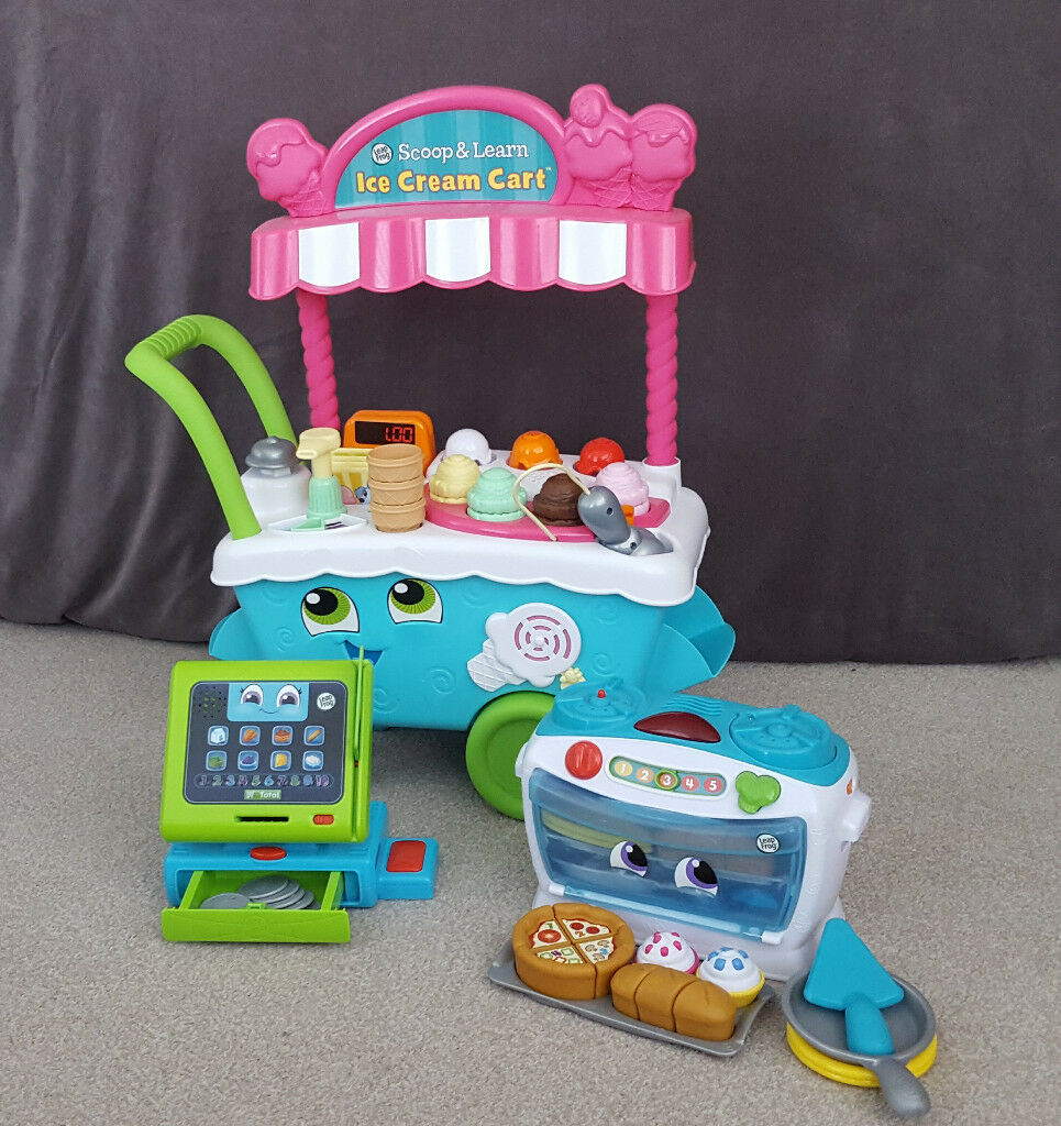 Leapfrog Scoop/Learn Ice Cream Cart, Count Along Till, Number Loving ...