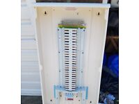 Schneider 54 single way distribution board + 125A Main circuit