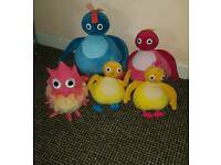 Talking twirlywoos collection