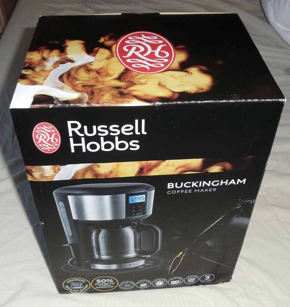 Brand New In Box Russell Hobbs Buckingham Coffee Maker With Glass Thermal Carafe In Cambridge Cambridgeshire Gumtree
