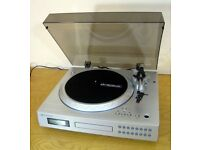 Neostar NTCD1V Turntable, CD Player-Recorder usb Plays 45/33/78/CDS
