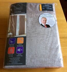 "New Eyelet Thermal Blackout Curtains W: 66"" x D: 54"""