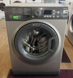 HOTPOINT Smart Tech - Grey/Silver , 7KG , A++ WASHING MACHINE