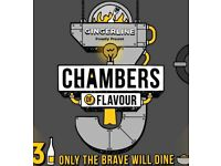 Chambers of Flavour tickets x 2 for TONIGHT - immersive dining experience near Hoxton
