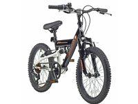 Piranha 18 Inch Omega Dual Suspension Kid's Mountain Bike