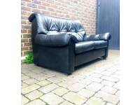 Retro Leather Ekornes Stressless Sofa Delivery Available