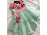 Beautiful party dress for baby 9-18 months
