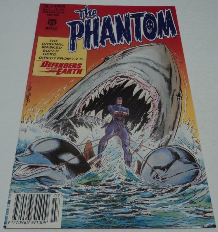 THE PHANTOM #1 (Wolf Publishing 1992) LEE FALK (FN/VF) RARE UK COMIC