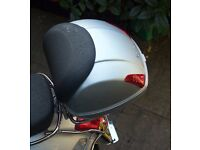 GENUINE VESPA TOP BOX WITH ALL FITTINGS-EXCELLENT CONDITION