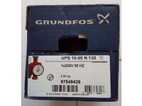 GRUNDFOS STAINLESS STEEL PUMP UPS 15-50 N 130 BRAND NEW IN BOX