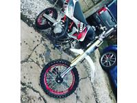 Demon x XLR 140 pitbike