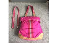 Fossil bag made if canvas and leather