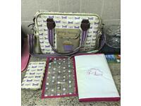 Yummy mummy changing Bag and purse