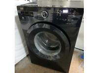 Beko black Washing Machine 8kg