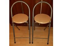 Two foldable stools for 5 pounds