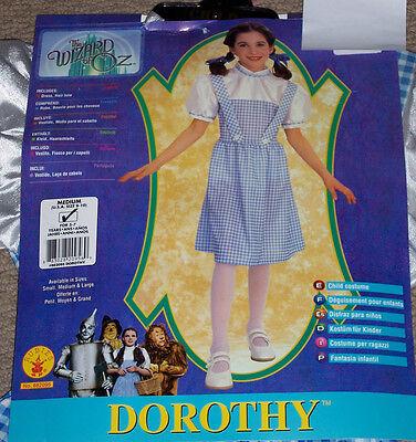Wizard of OZ Dorothy costume,Child Med 8-10,Girl's age 5-7,pretend - Wizard Of Oz Dorothy Age