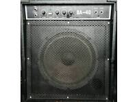 40 Watt Electric Bass Guitar Amp