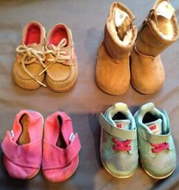 US size 2 baby shoes