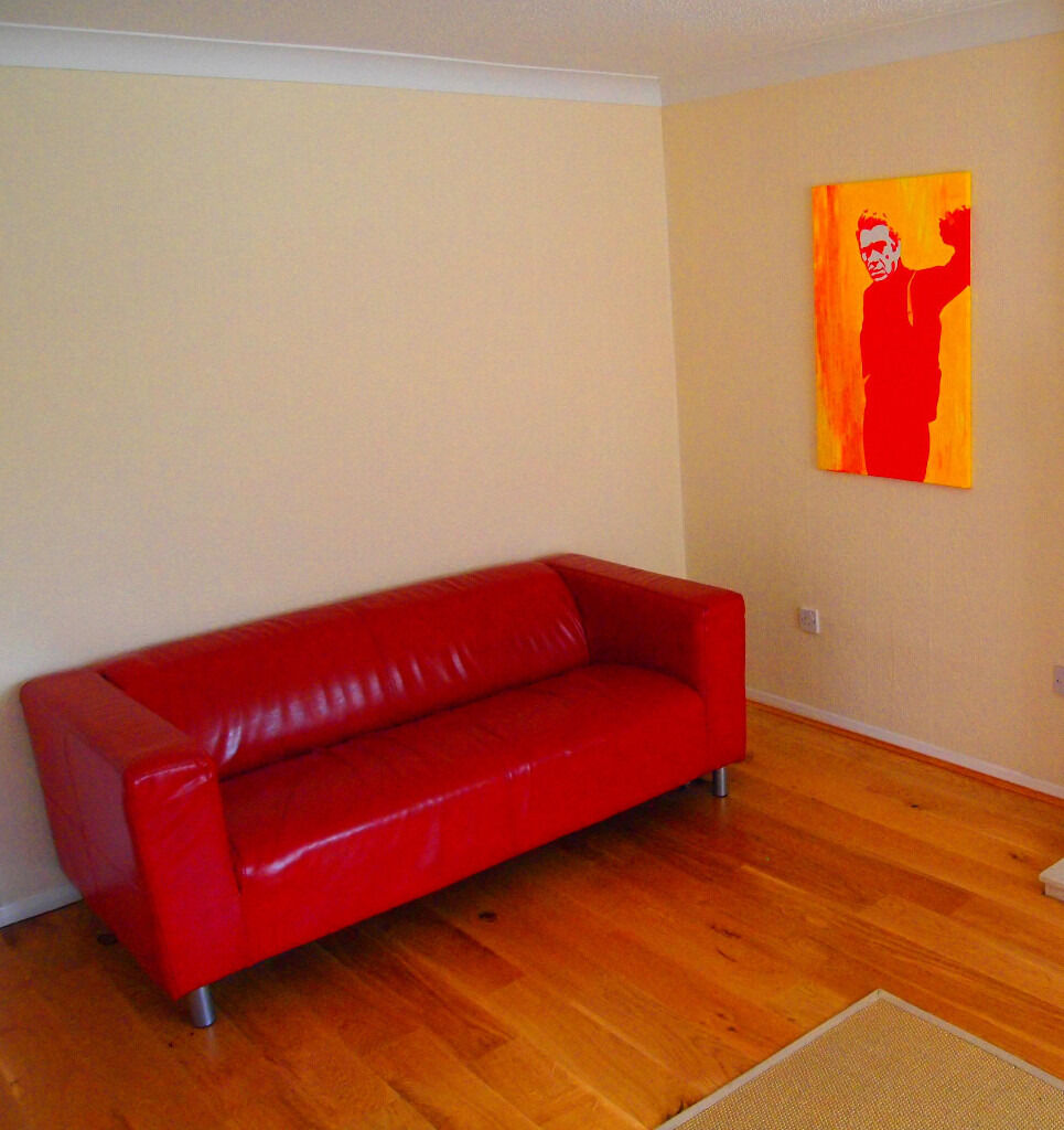 Ikea Red Leather Sofa Home And Textiles