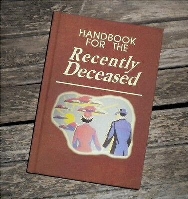 Blank Book   Sketch Book   Handbook For The Recently Deceased Beetlejuice Prop