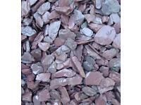Purple Garden Stone Slate Patio