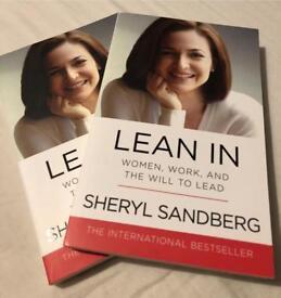 LEAN IN - Sheryl Sandberg - NEW paperback