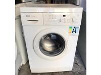 BOSCH CLASSICX 1200 DIGITAL WASHING MACHINE 3 MONTH WARRANTY, FREE INSTALLATION