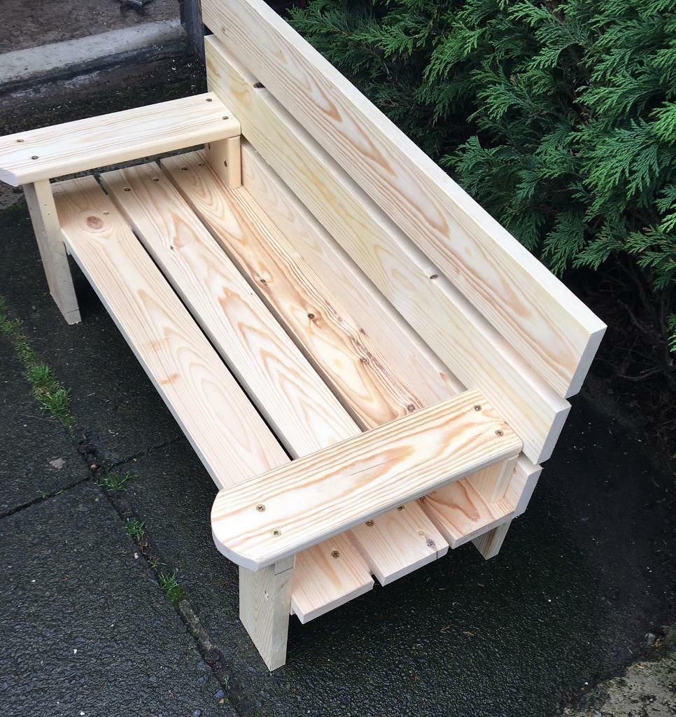 Children's wooden garden bench for sale | in Allerton ...