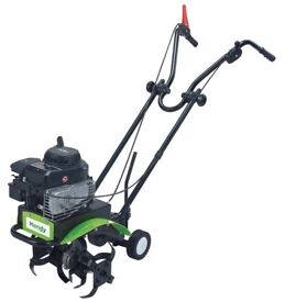 Handy Petrol Tiller Rotovator Rotavator Cultivator w/ 3.5HP Briggs & Stratton! + WARRANTY! RRP £330!