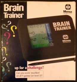 Mensa Brain Trainer (boxed)